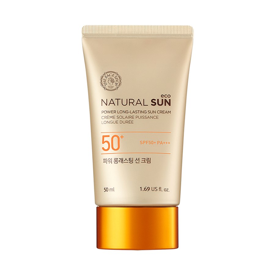 THEFACESHOP Natural Eco Power Long Lasting Sun Cream SPF50+ PA+++ - THEFACESHOP Australia