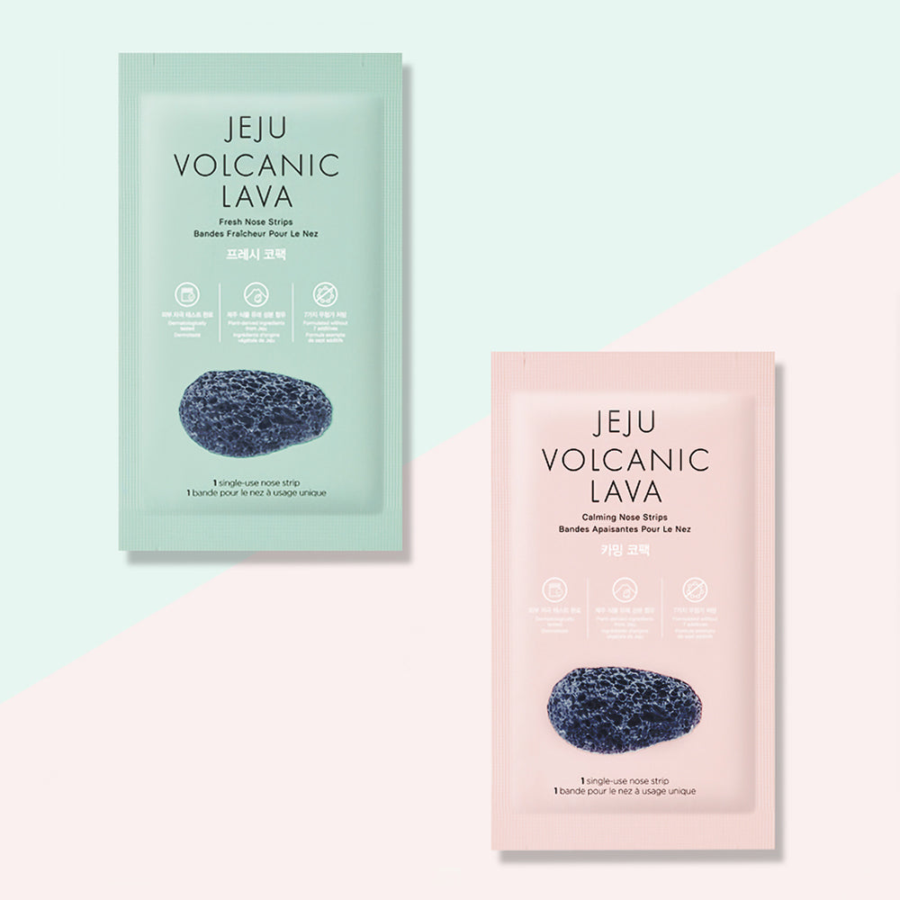 THEFACESHOP JEJU VOLCANIC LAVA NOSE STRIPS