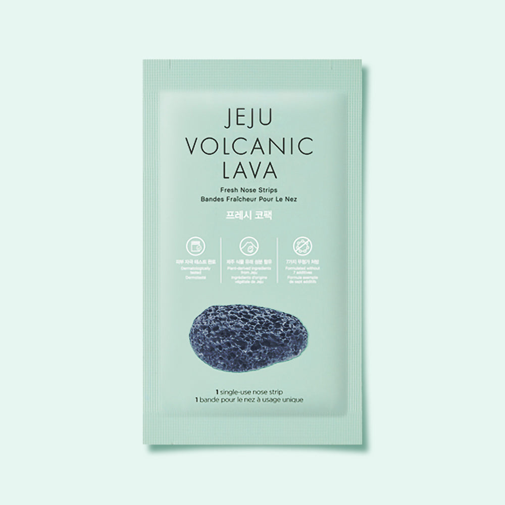 THEFACESHOP JEJU VOLCANIC LAVA FRESH NOSE STRIPS