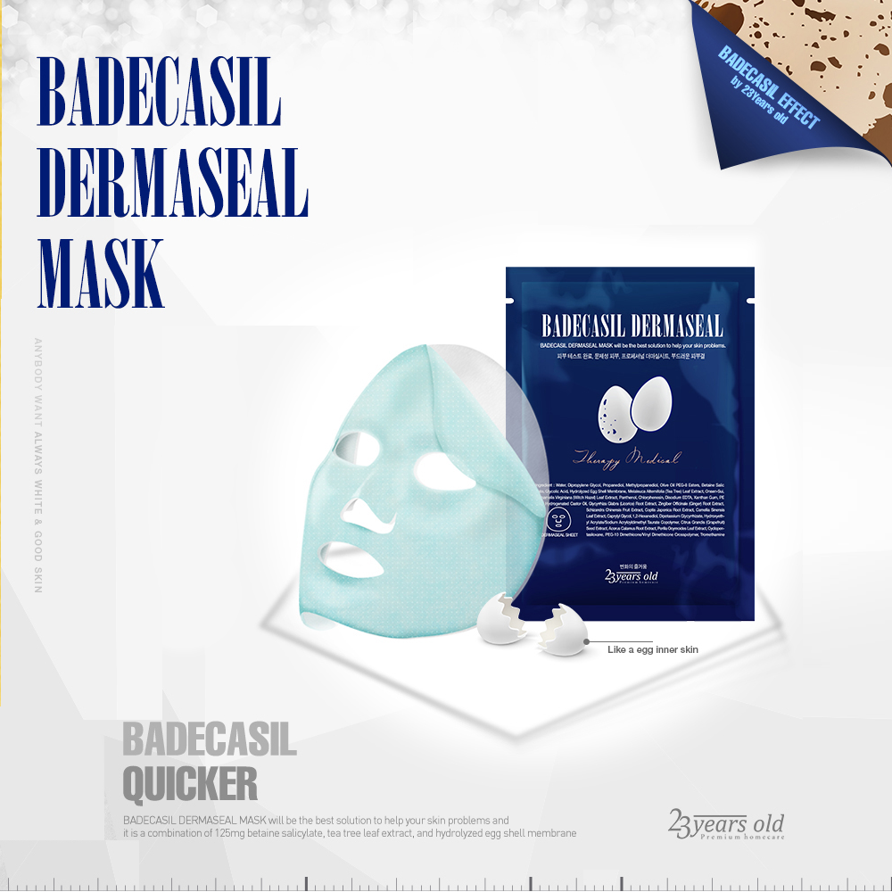 23 Years Old Badecasil Dermaseal Mask