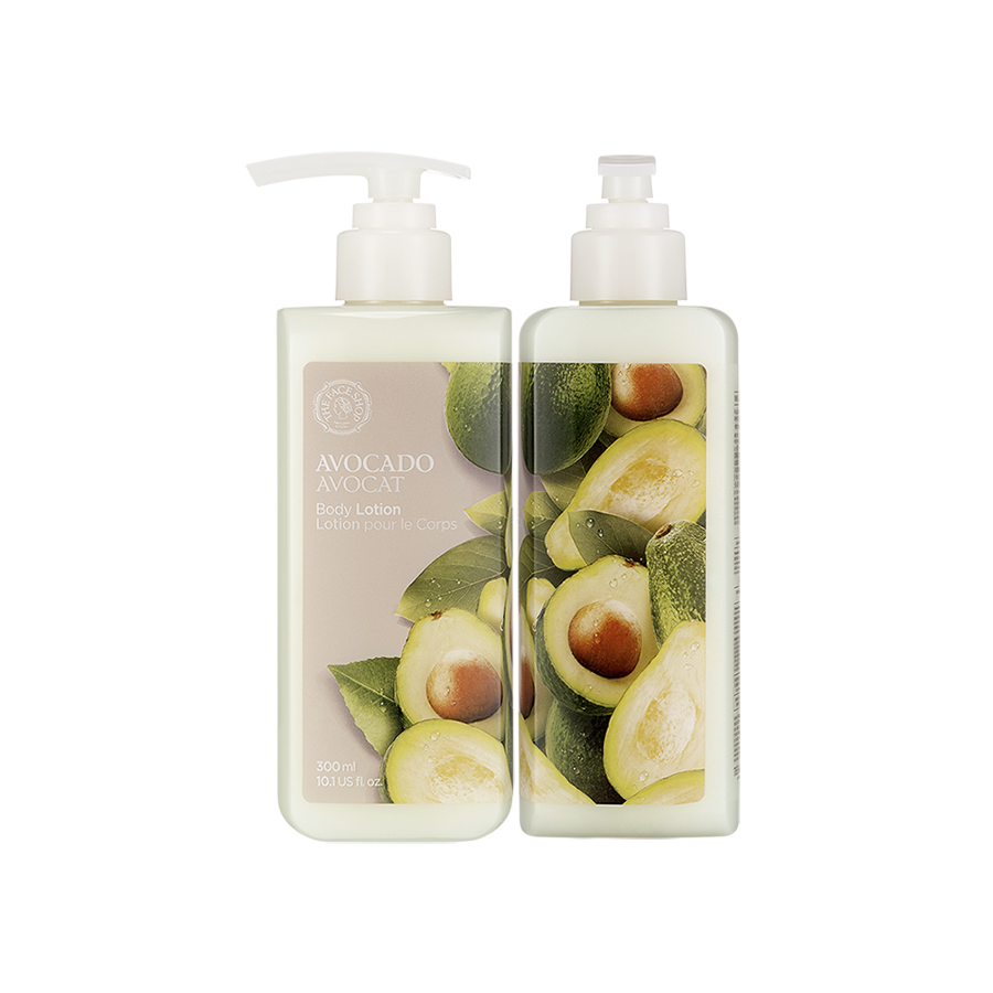 THEFACESHOP AVOCADO BODY LOTION - THEFACESHOP Australia