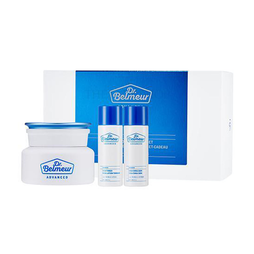THEFACESHOP DR BELMEUR ADVANCED CICA HYDRO CREAM GIFT SET
