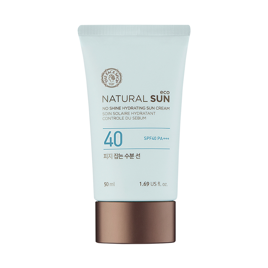 THEFACESHOP Natural Eco No Shine Hydrating Sun Cream SPF50+ PA+++