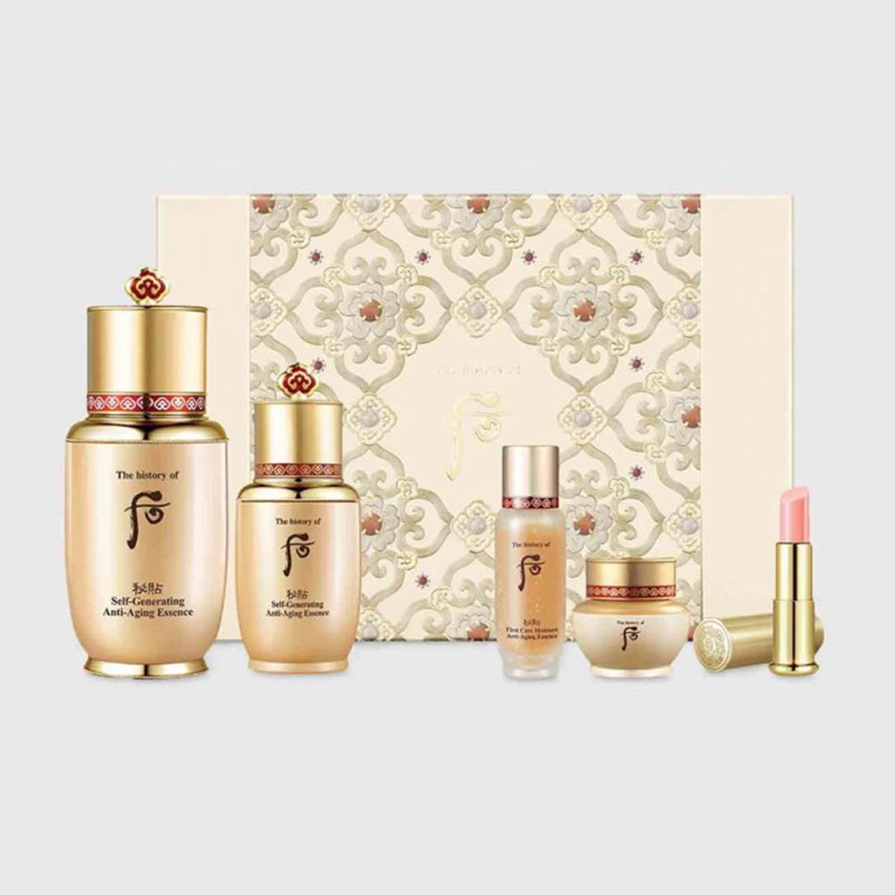 The history of Whoo Bichup Self-Generating Anti-Aging Essence Gift Set