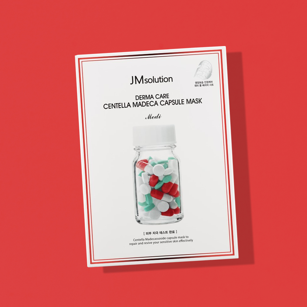 JM Solution Derma Care Centella Madeca Capsule Mask