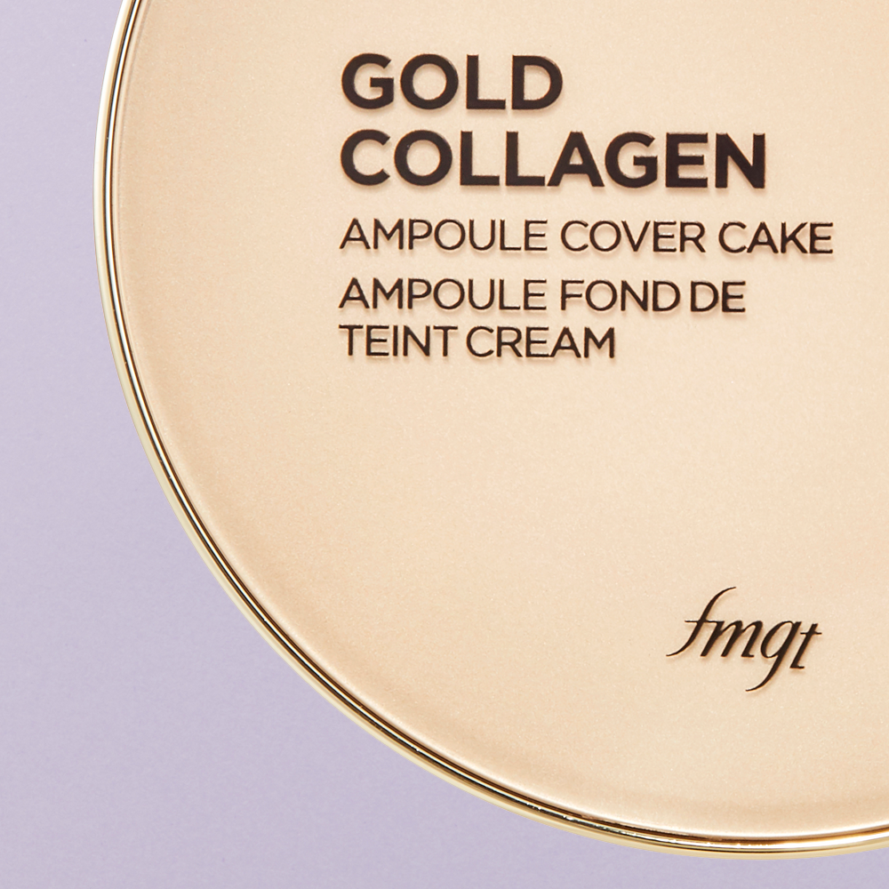 THE GOLD COLLAGEN AMPOULE COVER CAKE