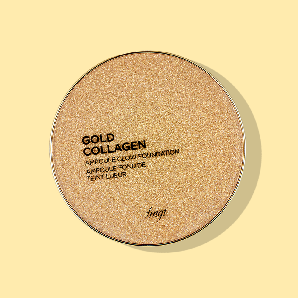 THEFACESHOP GOLD COLLAGEN AMPOULE GLOW FOUNDATION