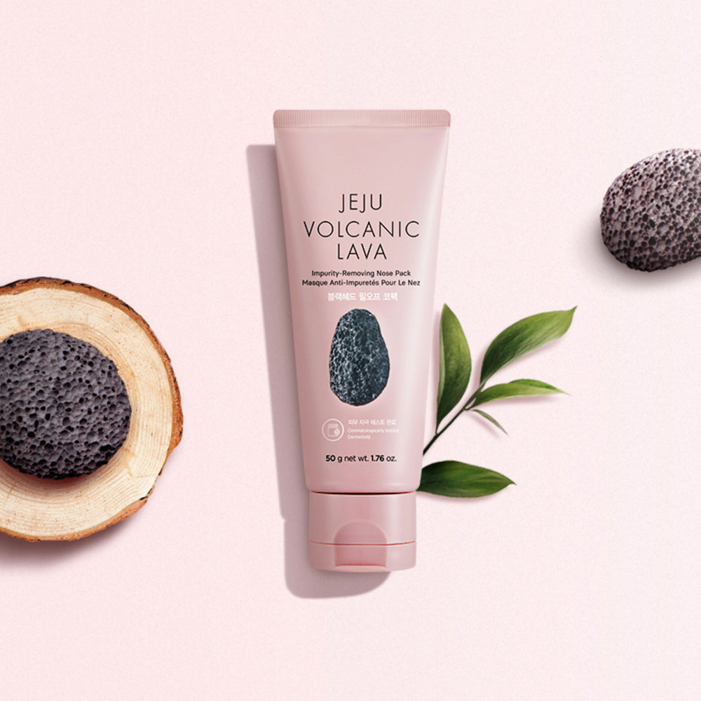 THEFACESHOP JEJU VOLCANIC LAVA IMPURITY REMOVING NOSE PACK