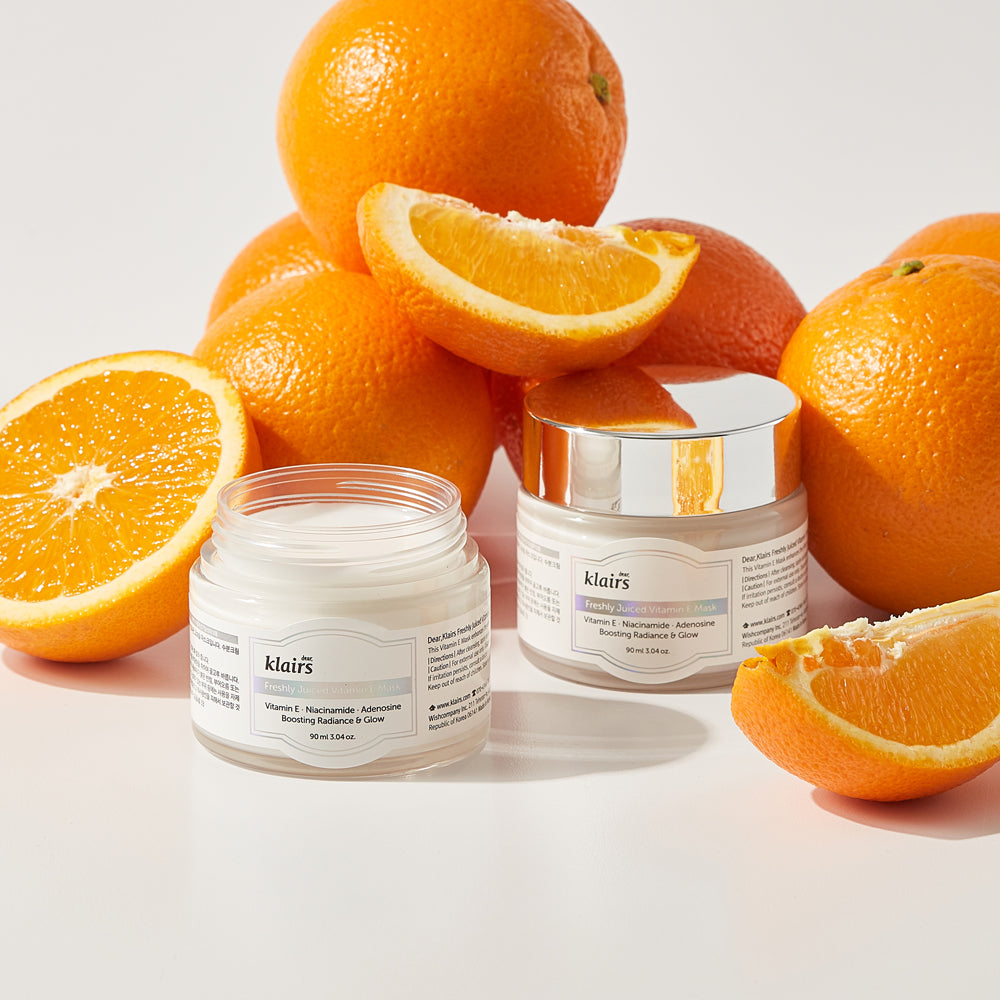 Dear Klaris Freshly Juiced Vitamin E Mask