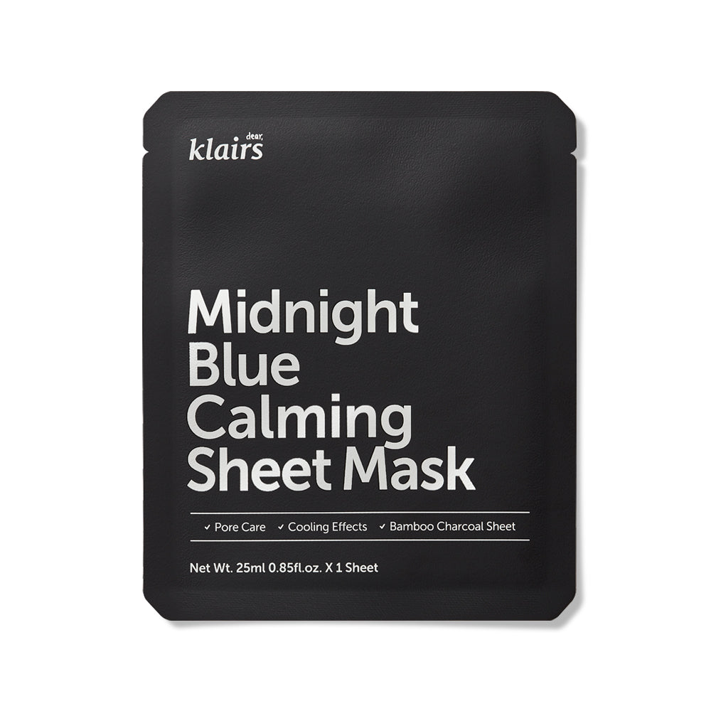 Dear Klaris Midnight Blue Calming Sheet Mask