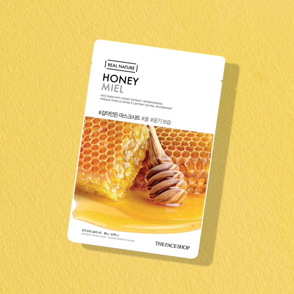 THEFACESHOP REAL NATURE Face Mask - Honey