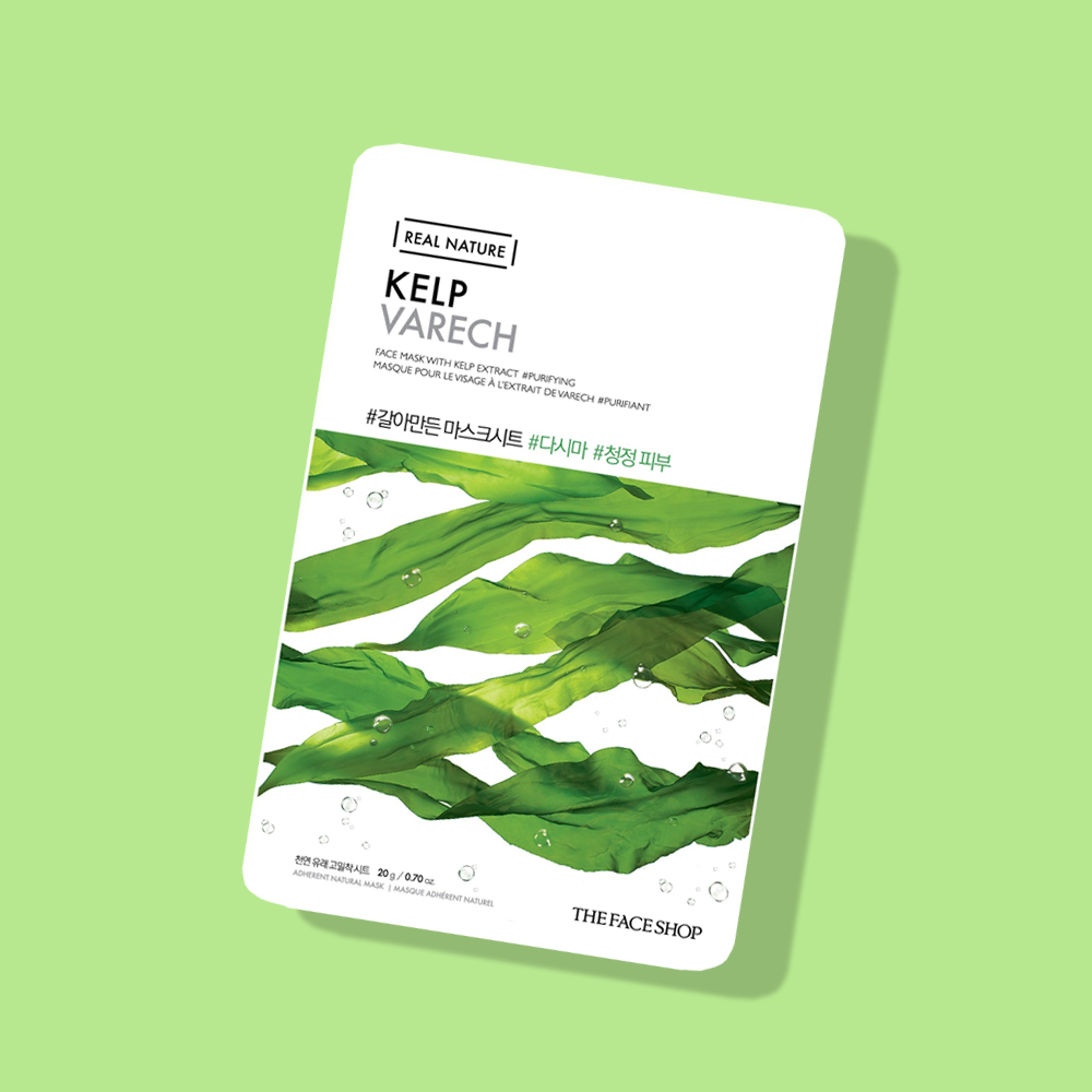 THEFACESHOP REAL NATURE Face Mask Kelp