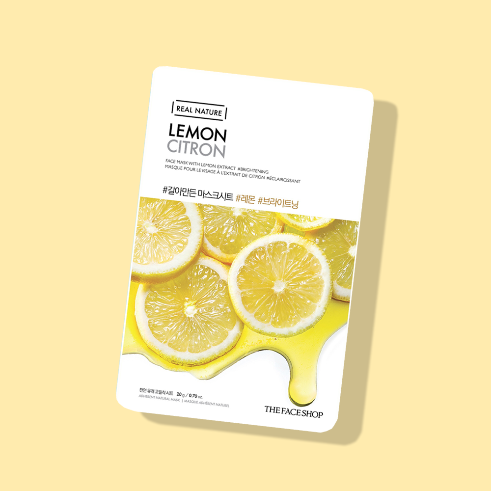 THEFACESHOP REAL NATURE Face Mask Lemon