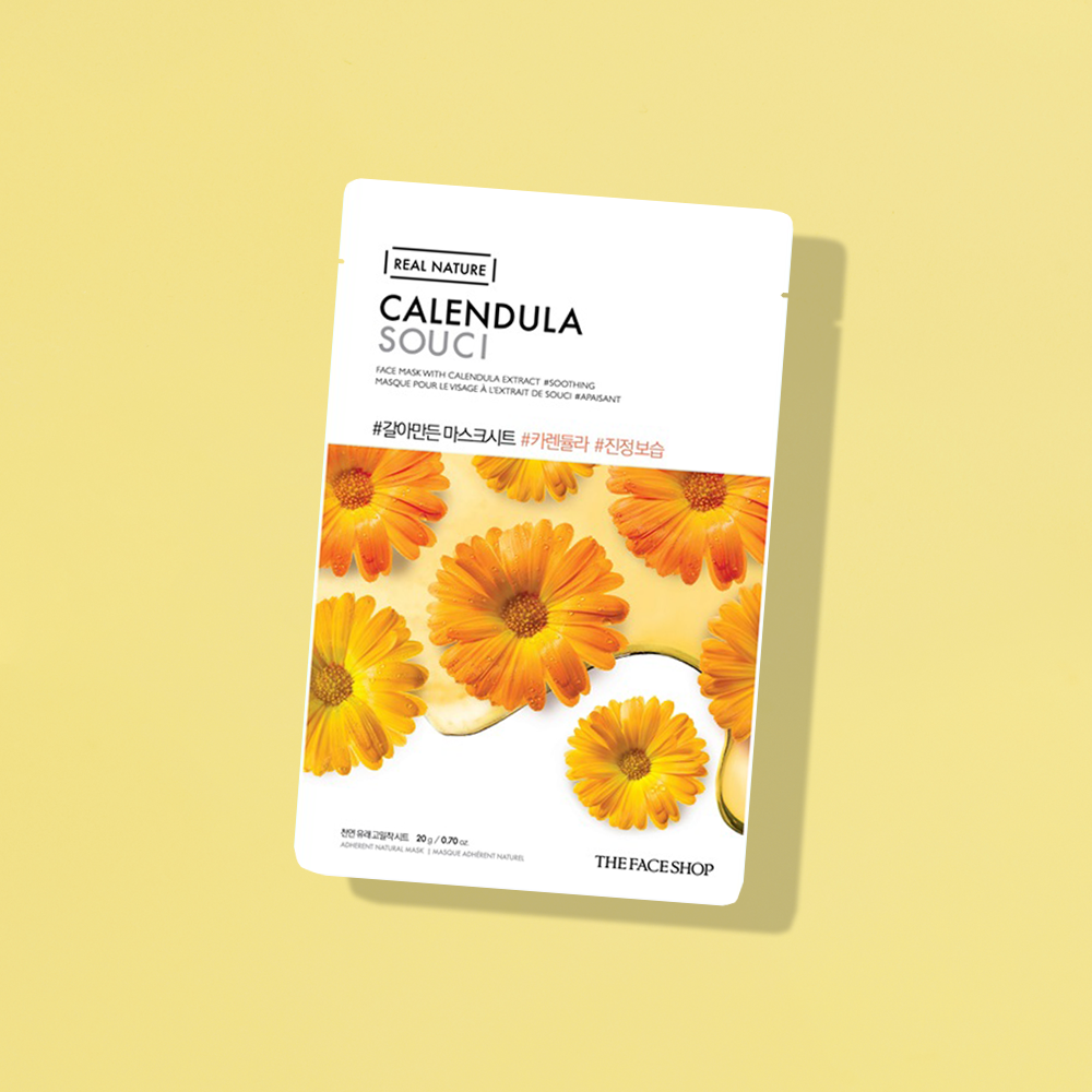 THEFACESHOP REAL NATURE Face Mask - Calendula