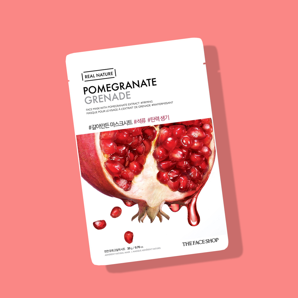 THEFACESHOP REAL NATURE Face Mask Pomegranate