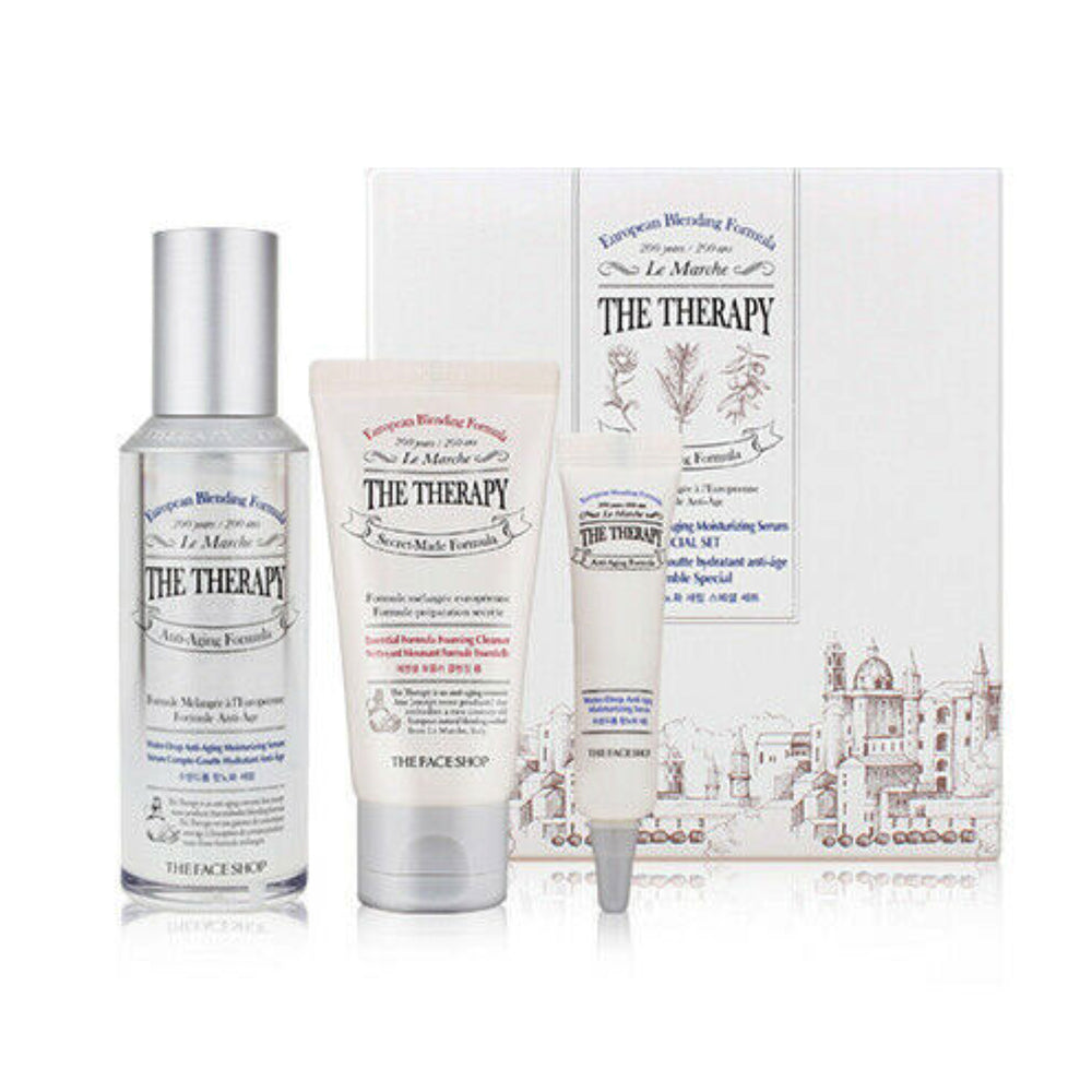 THE THERAPY WATER DROP ANTIAGING MOISTURIZING SERUM SPECIAL SET