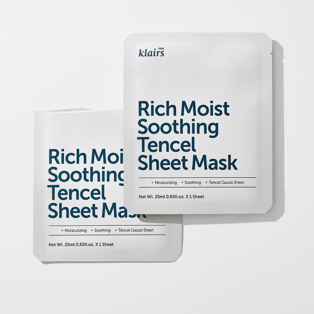Dear Klaris Rich Moist Soothing Tencel Sheet Mask