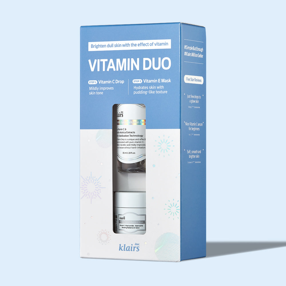 Dear, Klairs Vitamin Duo Set