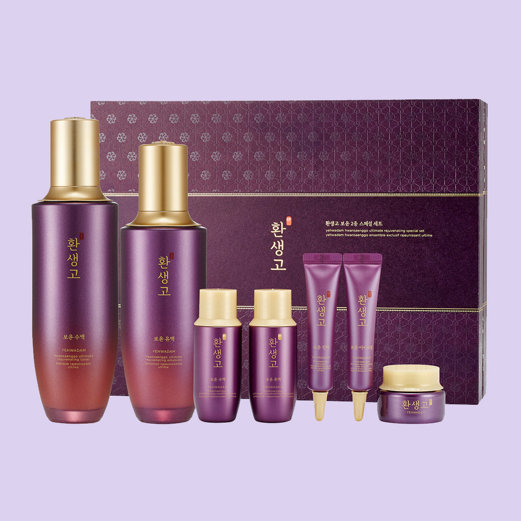 YEHWADAM HWANSAENGGO ULTIMATE REJUVENATING SPECIAL SET