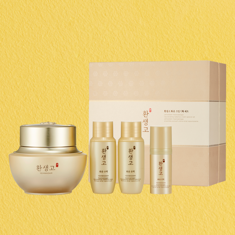 THEFACESHOP YEHWADAM HWANSAENGGO REJUVENATING RADIANCE CREAM SPECIAL SET