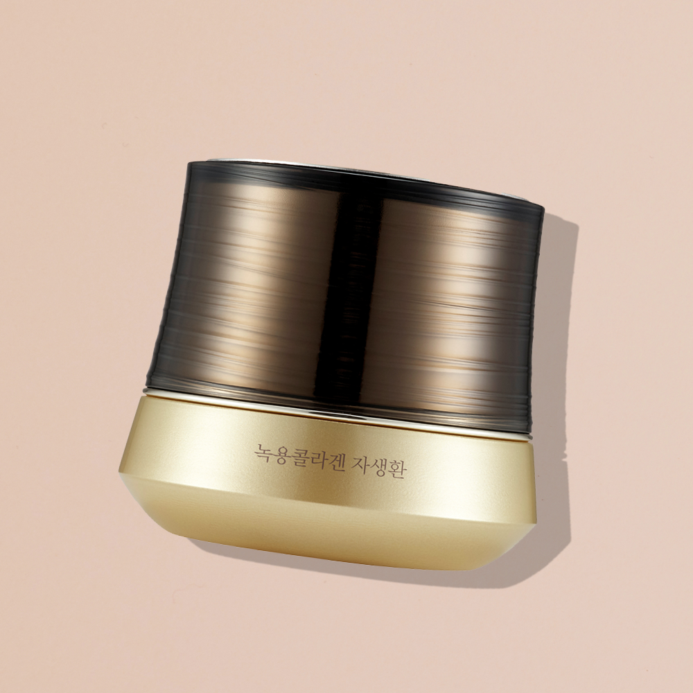 THEFACESHOP YEHWADAM NOKYONG COLLAGEN CONTOUR LIFT GOLD CAPSULE CREAM