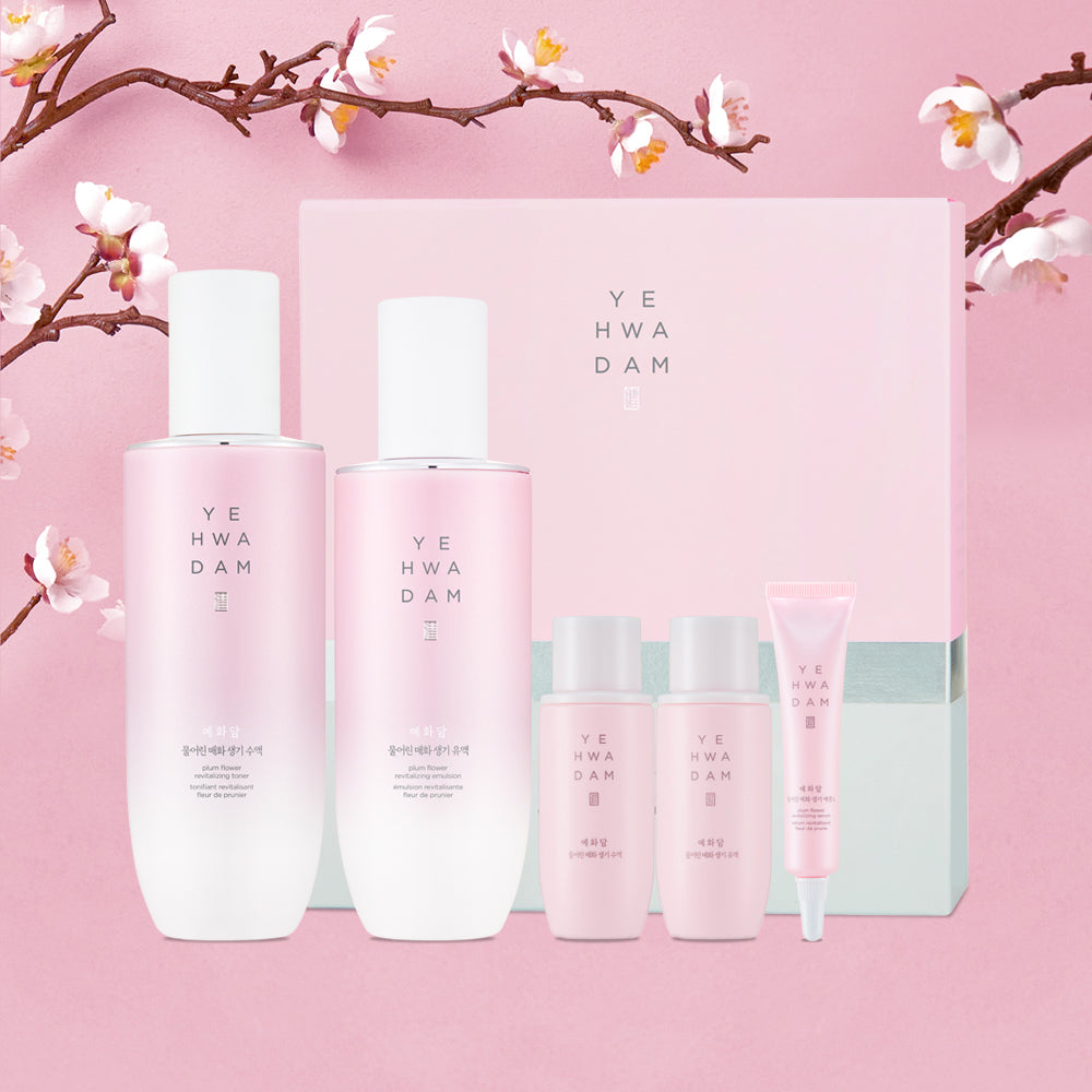 YEHWADAM PLUM FLOWER REVITALIZING SPECIAL DUO SET