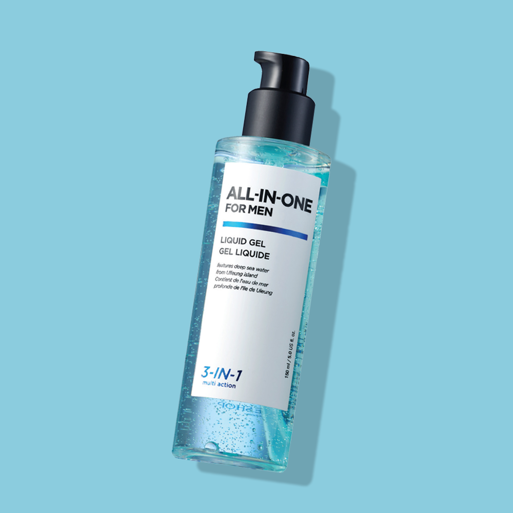 THEFACESHOP ALL IN ONE FOR MAN LIQUID GEL
