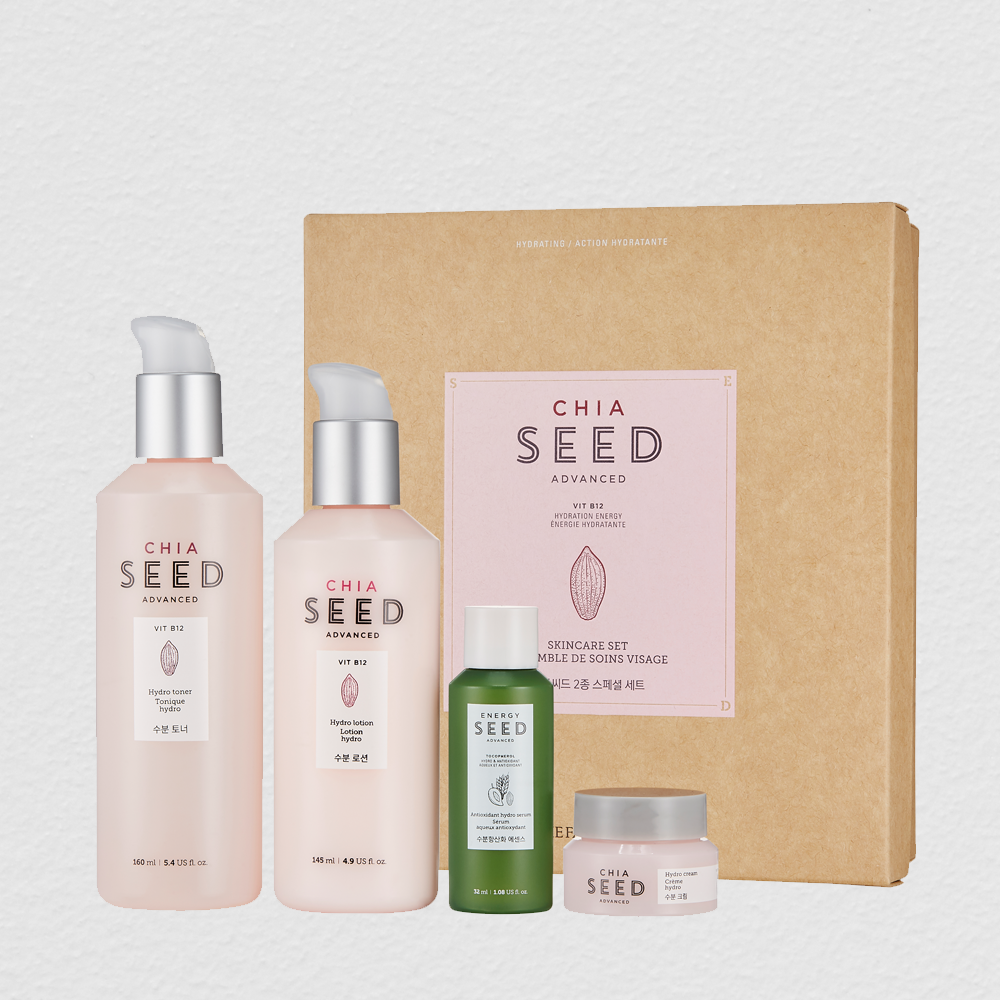 THEFACESHOP CHIA SEED SKIN CARE SET