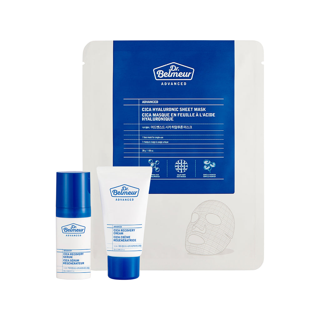 THEFACESHOP DR. BELMEUR ADVANCED CICA TRIO KIT