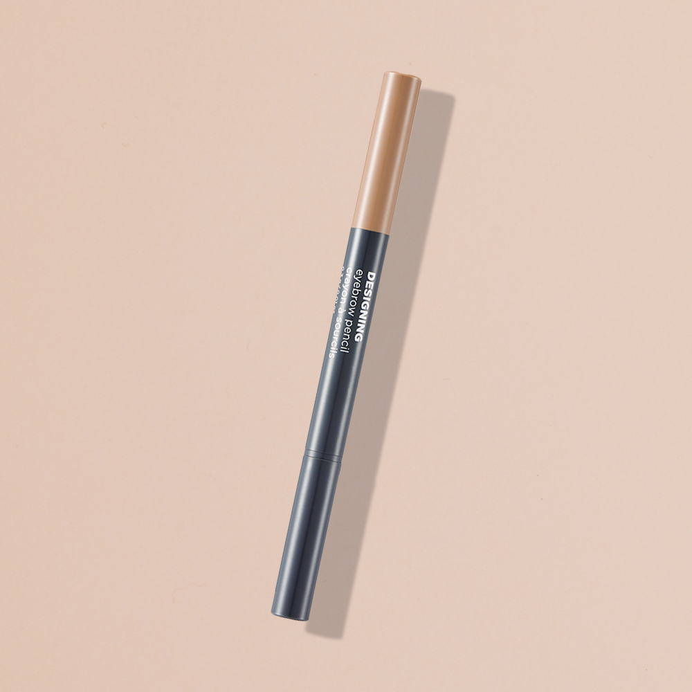 THEFACESHOP DESIGNING EYEBROW PENCIL 01 LIGHT BROWN