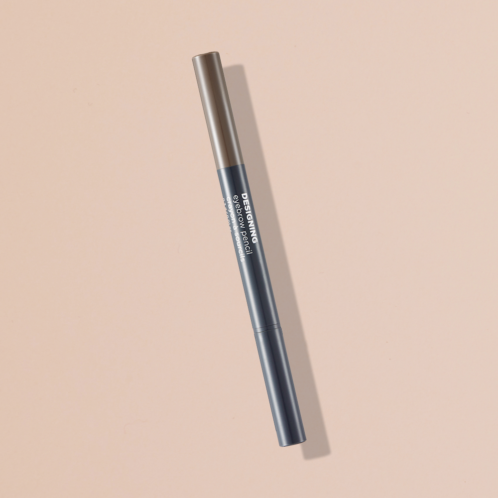 THEFACESHOP DESIGNING EYEBROW PENCIL 02 GRAY BROWN