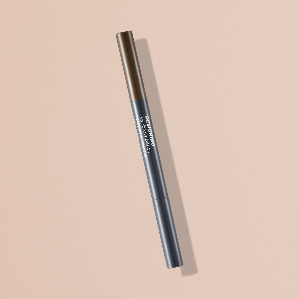 THEFACESHOP DESIGNING EYEBROW PENCIL 04 BLACK BROWN