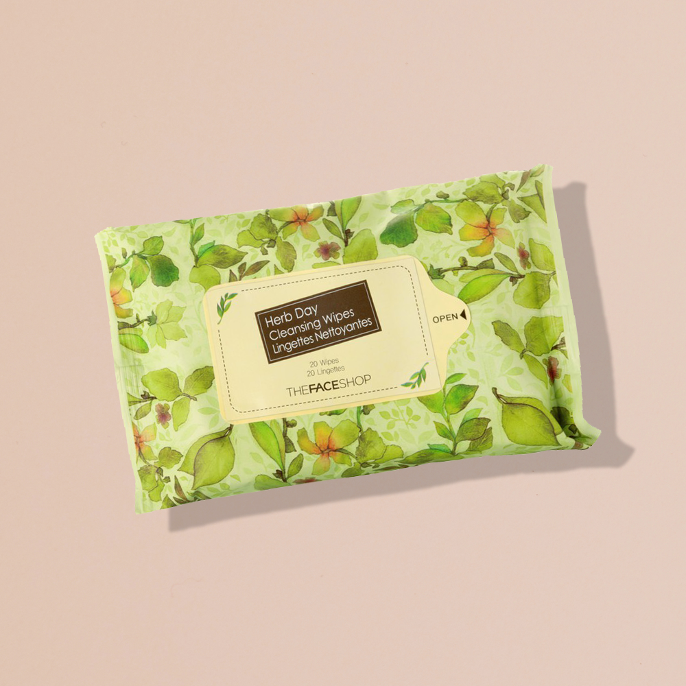 THEFACESHOP HERB DAY Cleansing Wipes