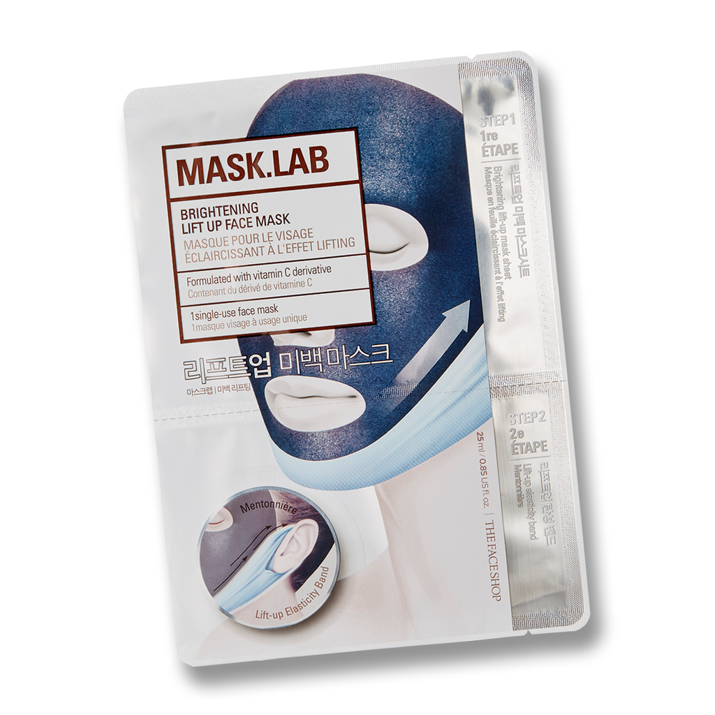 THEFACESHOP MASK.LAB Brightening Lift-up Face Mask
