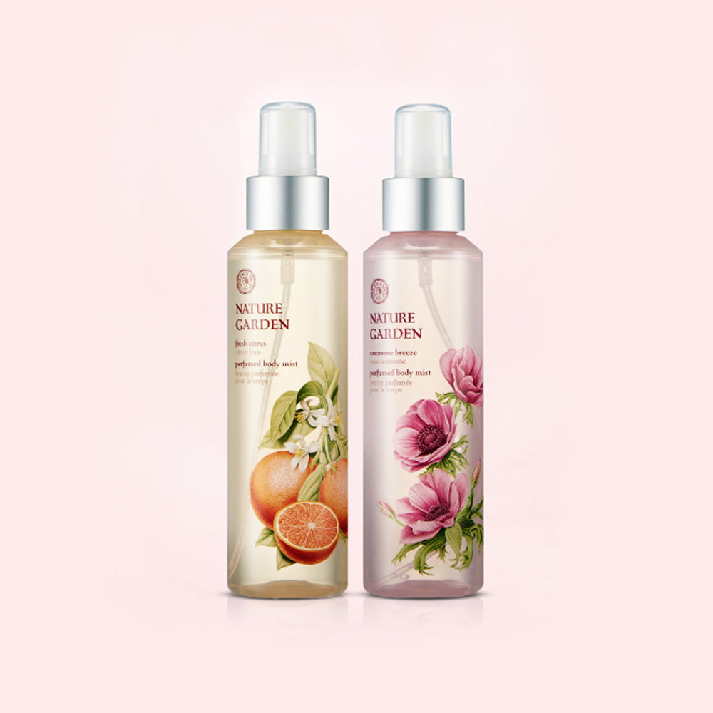 THEFACESHOP Nature Garden Anemone Breeze Perfumed Body Mist