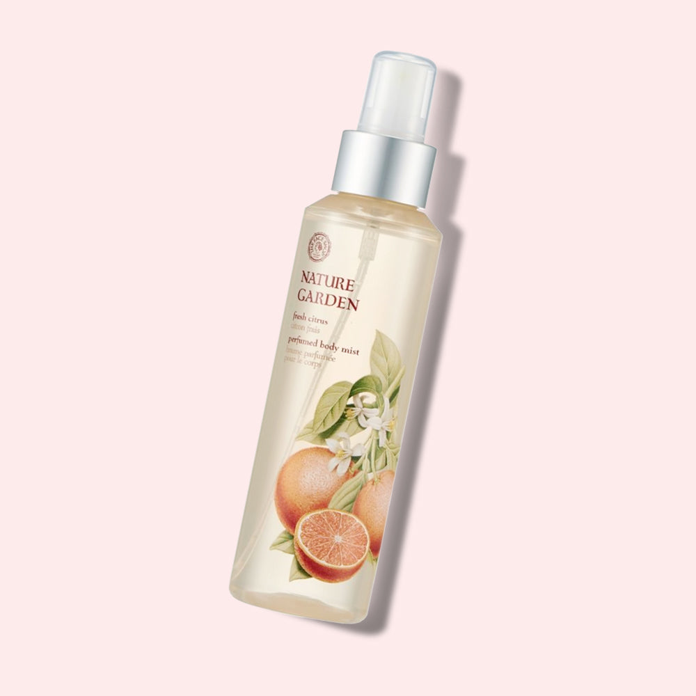 THEFACESHOP Nature Garden Fresh Citrus Perfumed Body Mist