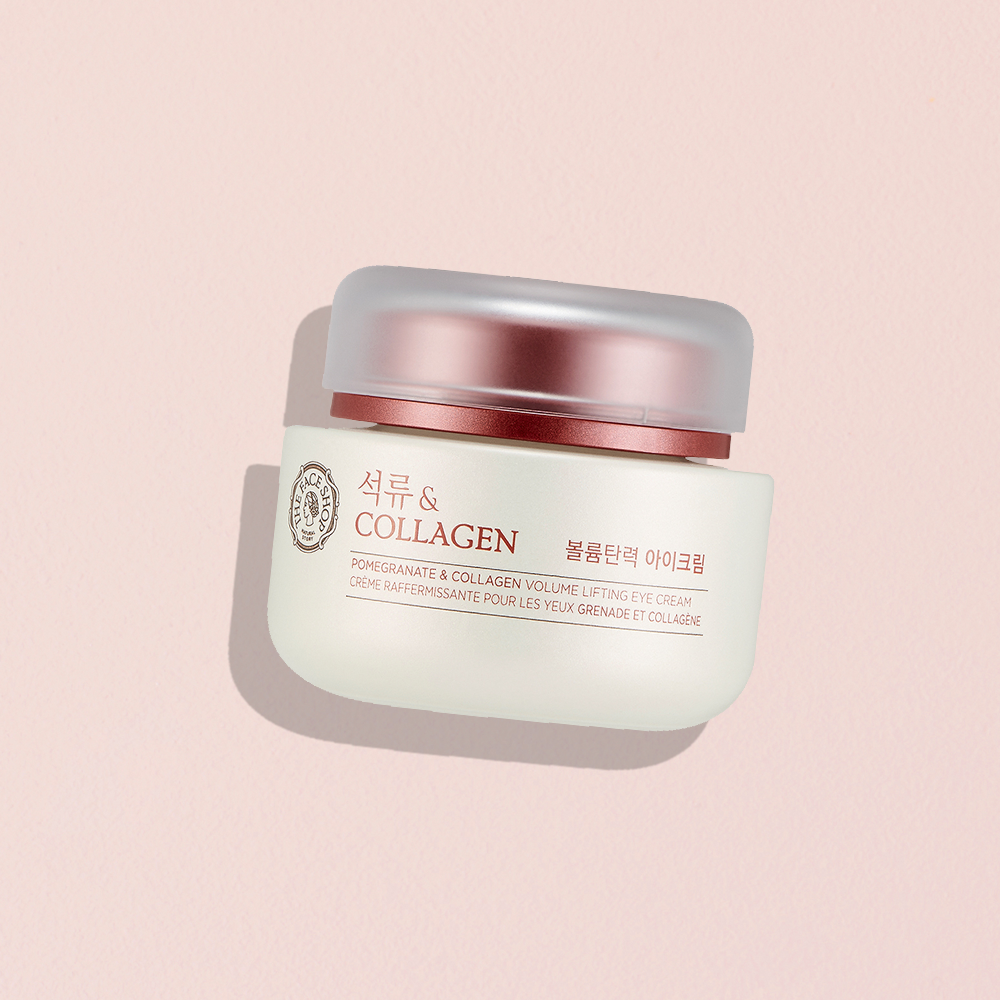 THEFACESHOP POMEGRANATE AND COLLAGEN VOLUME LIFTING EYE CREAM