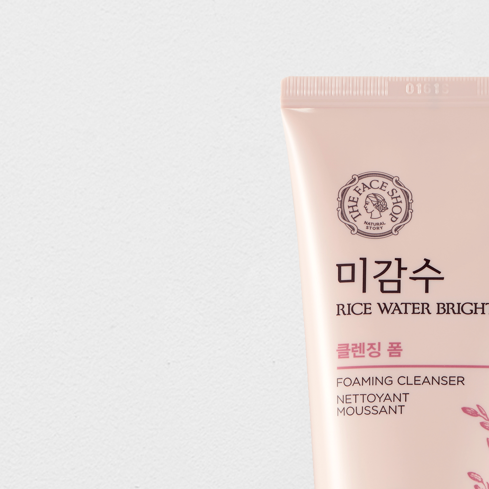 THEFACESHOP RICE WATER BRIGHT FOAMING CLEANSER
