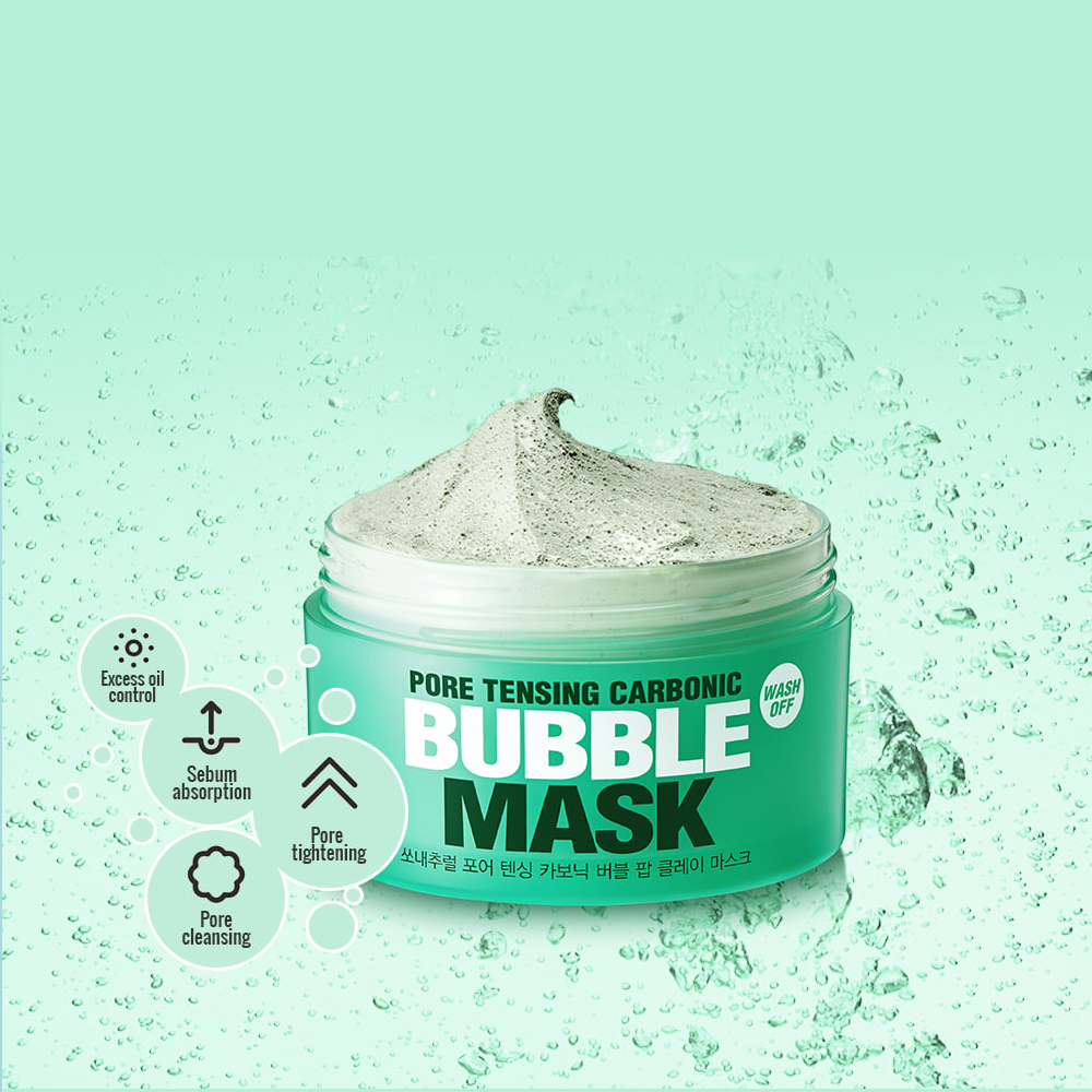 So Natural The Pure Pore Tensing Carbonic Bubble Pop Clay Mask