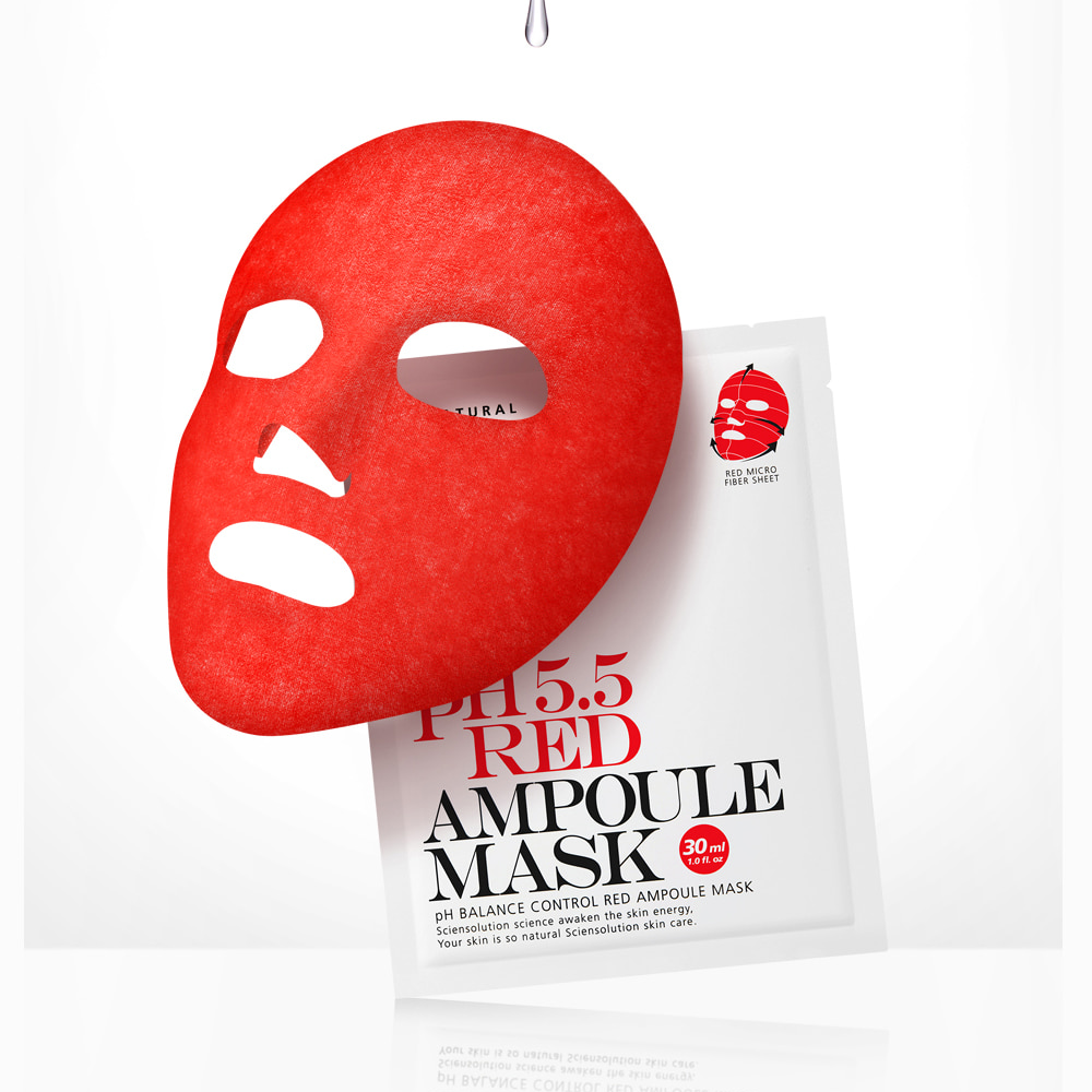 So Natural Red Ampoule Mask