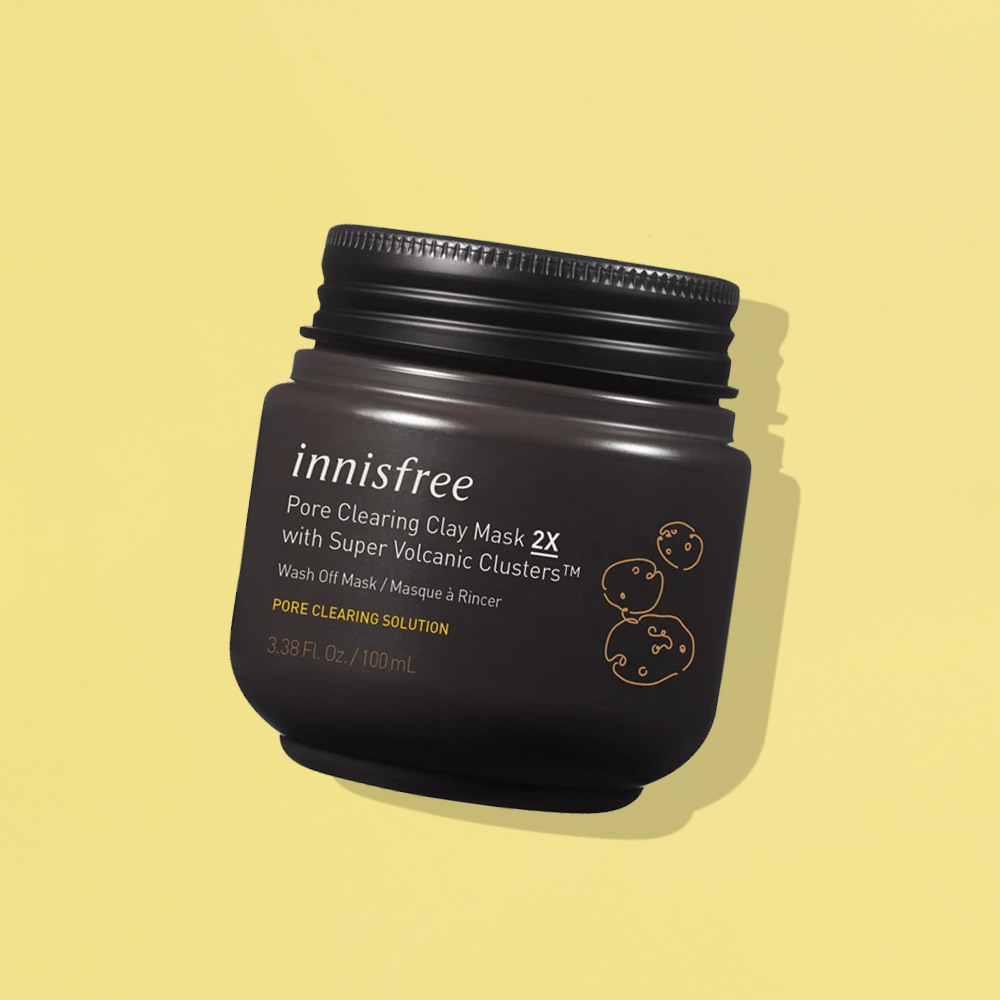 Innisfree Super Volcanic Pore Clays Mask 2X