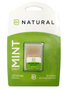 CBD Mint Mouth Strips
