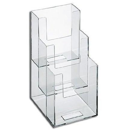 Clear Acrylic 3-Tier 4