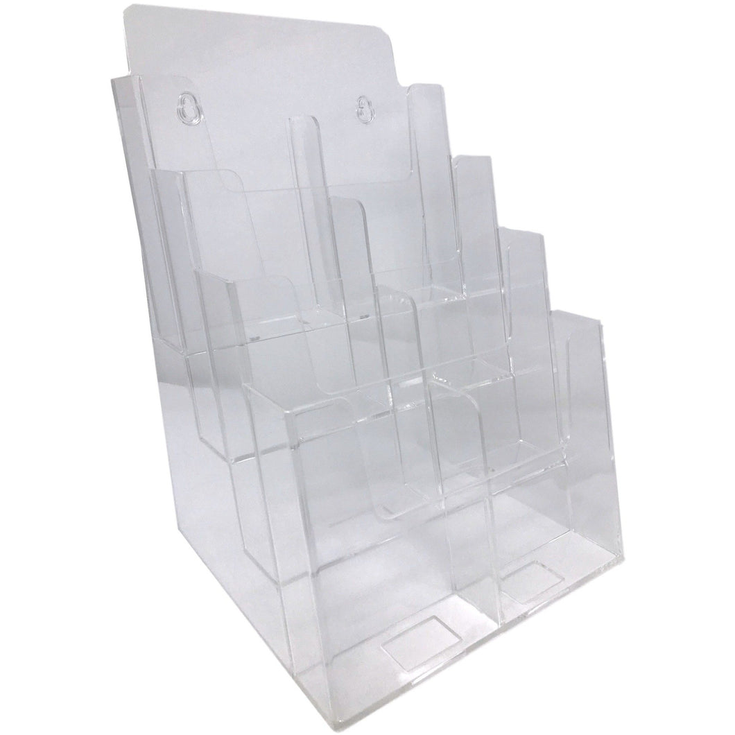 Clear Acrylic 4-Tier 8.5