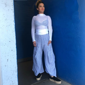 Striped Pantaloon Pants - LaLunaLifestyle