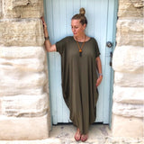 Bamboo Viscose Cocoon Dress - LaLunaLifestyle