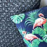 Flamingo Fantasy cushion cover - LaLunaLifestyle