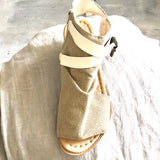 Canvas Booties - LaLunaLifestyle