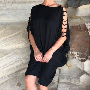 Cold-Shoulder Tunic - LaLunaLifestyle