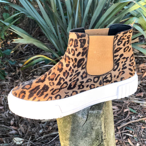Animal Print Camper Boot - LaLunaLifestyle